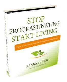Stop procrastinating Start living book image